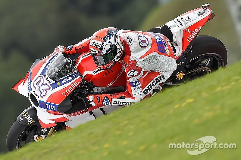 Довіціозо: Ducati «досі працюють» над мотоциклом