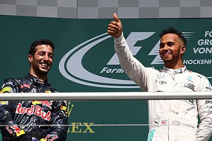 Ricciardo - Etre premier derrière Mercedes est une victoire