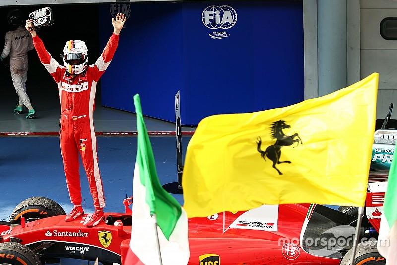 """Archives - L'idée """"stupide"""" d'un mariage entre Vettel et Ferrari"""