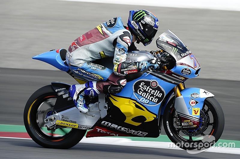 Brno, Libere 1: finalmente arriva un segnale da Alex Marquez
