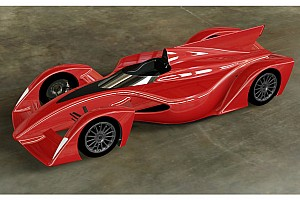 Formel E Feature Bildergalerie: Formel-E-Designstudie von Dome