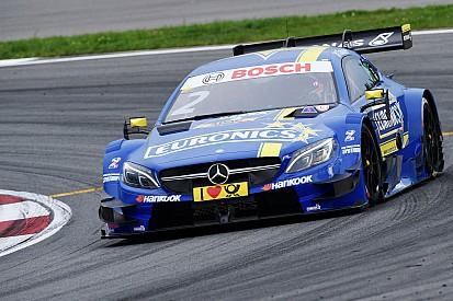 DTM Moskova: Cumartesi sıralamalarında Paffett lider, Mercedes ilk dörtte