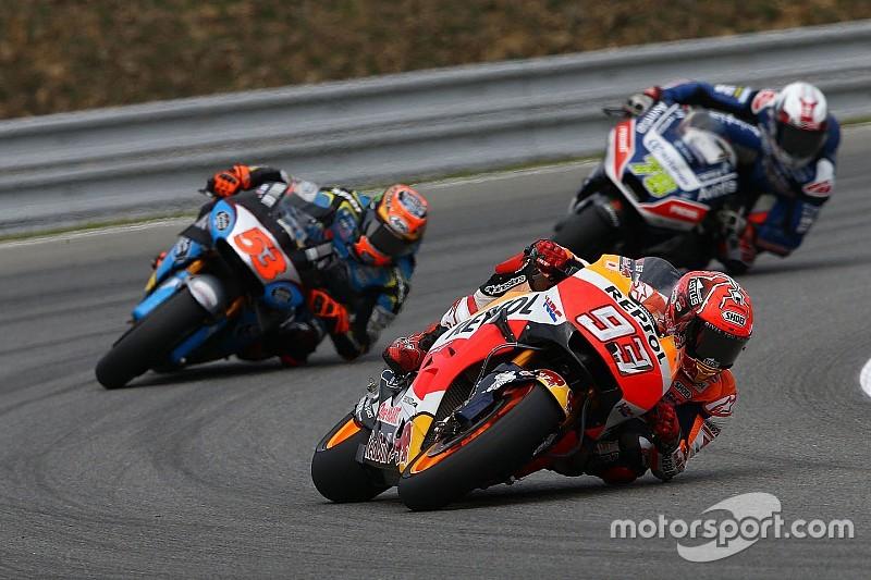 MotoGP in Brno: Die Startaufstellung in Bildern