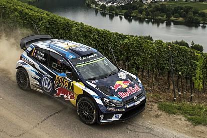 Rallye Deutschland: Sebastien Ogier nach turbulentem Samstag vorn