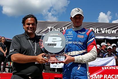 Primer pole de Mikhail Aleshin en IndyCar