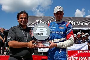 IndyCar Reporte de calificación Primer pole de Mikhail Aleshin en IndyCar