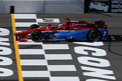 IndyCar Pocono: Aleshin pakt eerste pole in IndyCar-loopbaan