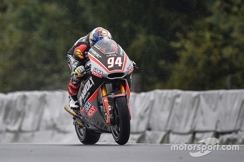 Jonas Folger feiert Moto2-Sieg von Brno