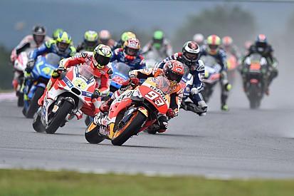 Маркес ожидал смены мотоцикла по ходу заезда