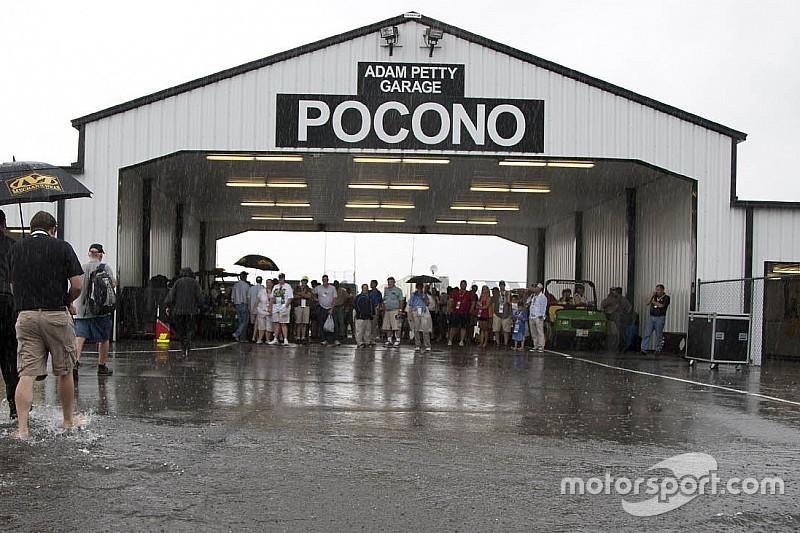 Gewitter in Pocono: IndyCar-Rennen auf Montag verschoben