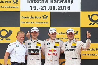 """""""Un résultat incroyable"""" pour BMW sur le Moscow Raceway"""