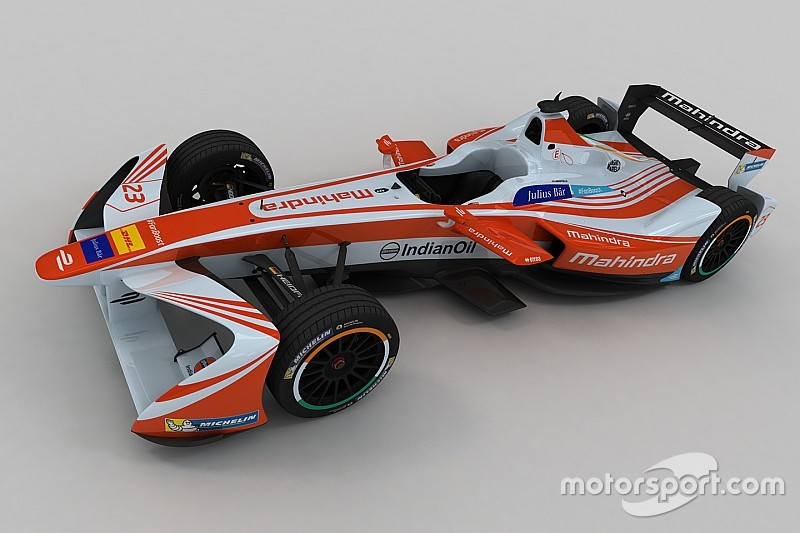 """马兴德拉车队发布Formula E""""第三季""""涂装"""