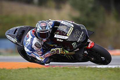 Premier test MotoGP (et première chute) pour Alex Lowes
