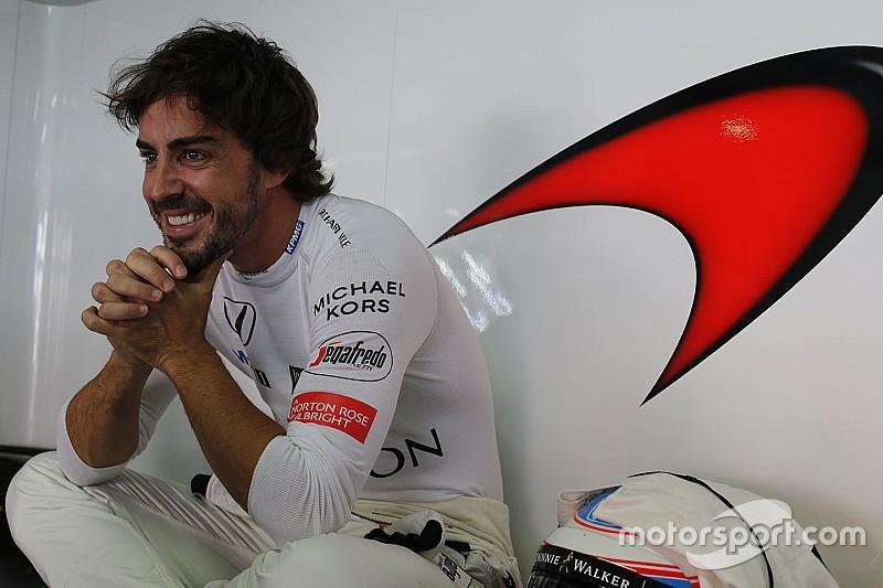 阿隆索:迈凯伦是合作过的最佳车队