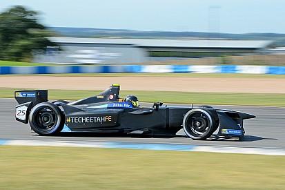 Jean-Eric Vergne mit neuem Rundenrekord bei den Formel-E-Tests
