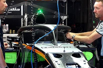 ヒュルケンベルグもベルギーGPでハロをテスト。オー・ルージュの視認性は?