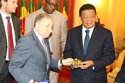Análise: esporte e segurança levam FIA para a África