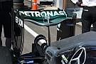 Breve análisis técnico: alerón trasero 'cuchara' del Mercedes