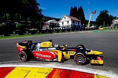 Джовинацци выиграл квалификацию в Бельгии