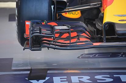 Análise técnica: asa dianteira da Red Bull