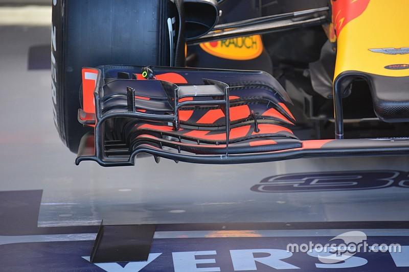 Технический брифинг: переднее крыло Red Bull RB12