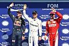 Verstappen pakt plek op eerste startrij in België, Rosberg op pole-position