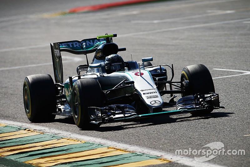 F1ベルギーGP予選:ロズベルグが3戦連続PP。フェルスタッペン、ライコネンが続く