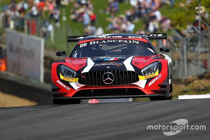 Blancpain Sprint Hungaroring: Rosenqvist domineert kwalificatie
