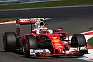 Raikkonen quedó decepcionado por perder la pole