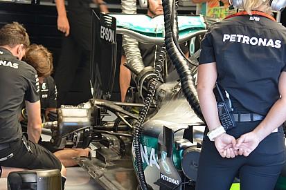 Mercedes: Hamilton ha provato una sospensione sperimentale?