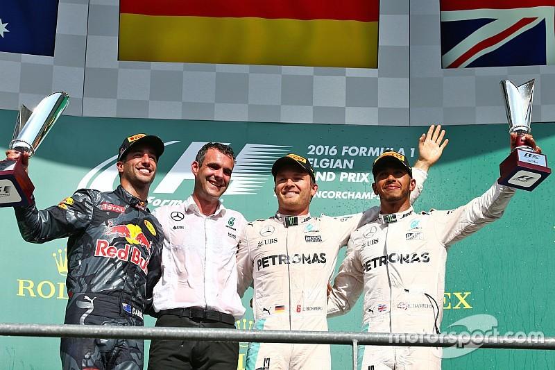 Formel 1 in Spa: Sechster Saisonsieg von Nico Rosberg, heftiger Unfall von Kevin Magnussen