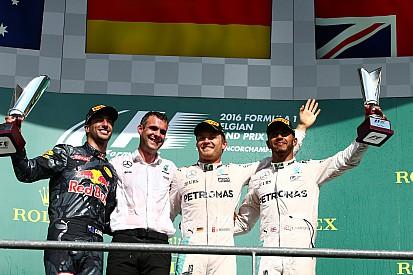 Belçika GP - Kaosla başlayan yarışı Rosberg kazandı, Hamilton podyuma çıktı!