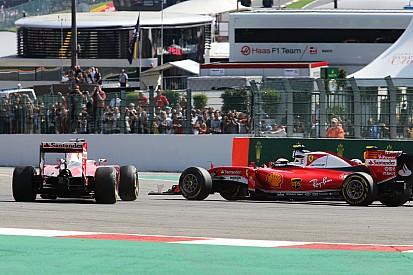 Vettel, ilk viraj kazası için Verstappen'i suçladı