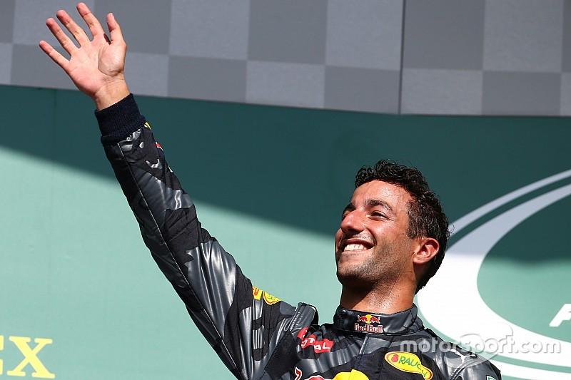 """Ricciardo: """"Per me un podio tranquillo. Ho controllato il ritorno di Lewis"""""""