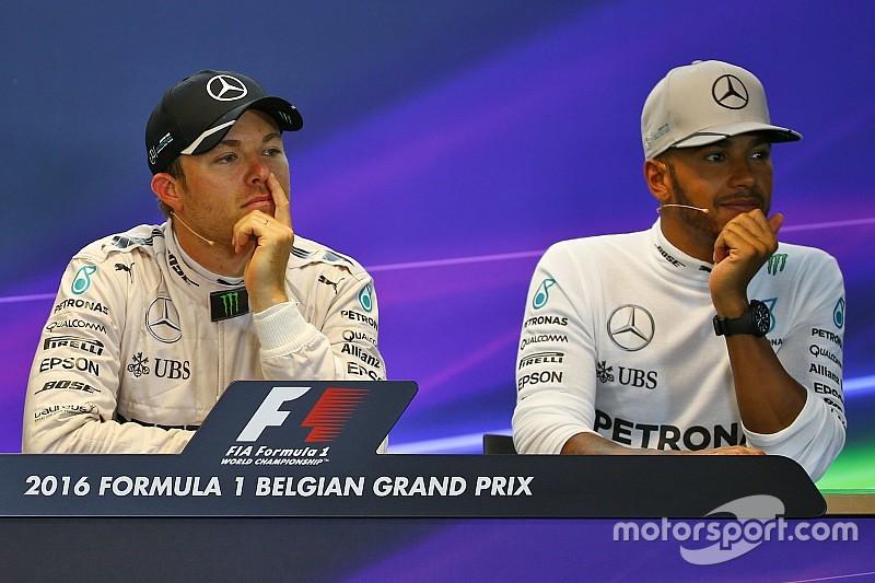 """Rosberg: """"No me esperaba ver a Lewis en el podio"""""""