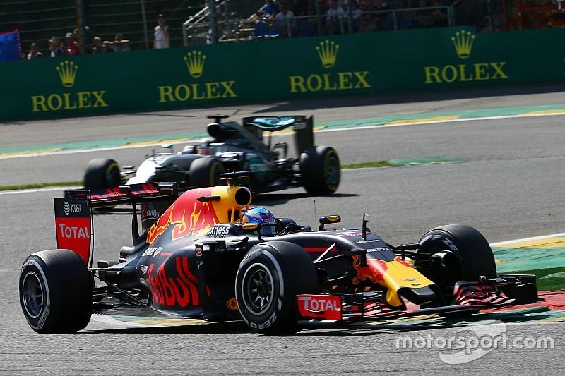 里卡多披露红旗期间更换前翼确保领奖台机会