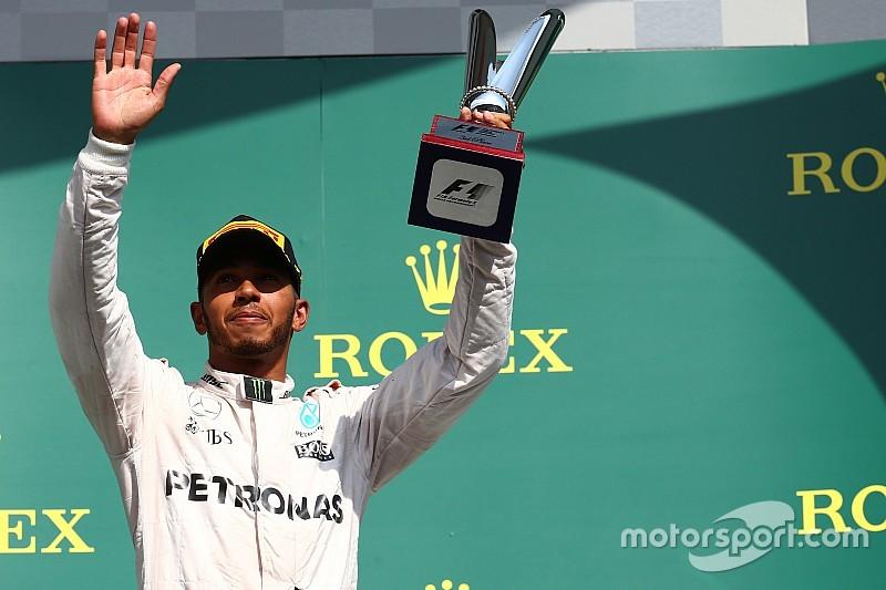 """Lewis Hamilton nominato """"Driver of the Day"""" di Spa-Francorchamps"""