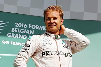Rosberg galibiyet sayısında Raikkonen ve Hakkinen'i yakaladı