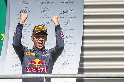 Gasly afirma querer tomar lugar de Kvyat na Toro Rosso