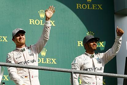 Rosberg ignoró la remontada de Hamilton en Spa