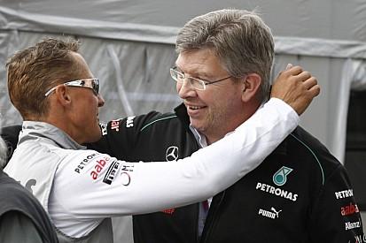 "Ross Brawn: ""Schumacher bajnoki szintre juttatta a Mercedest!"""