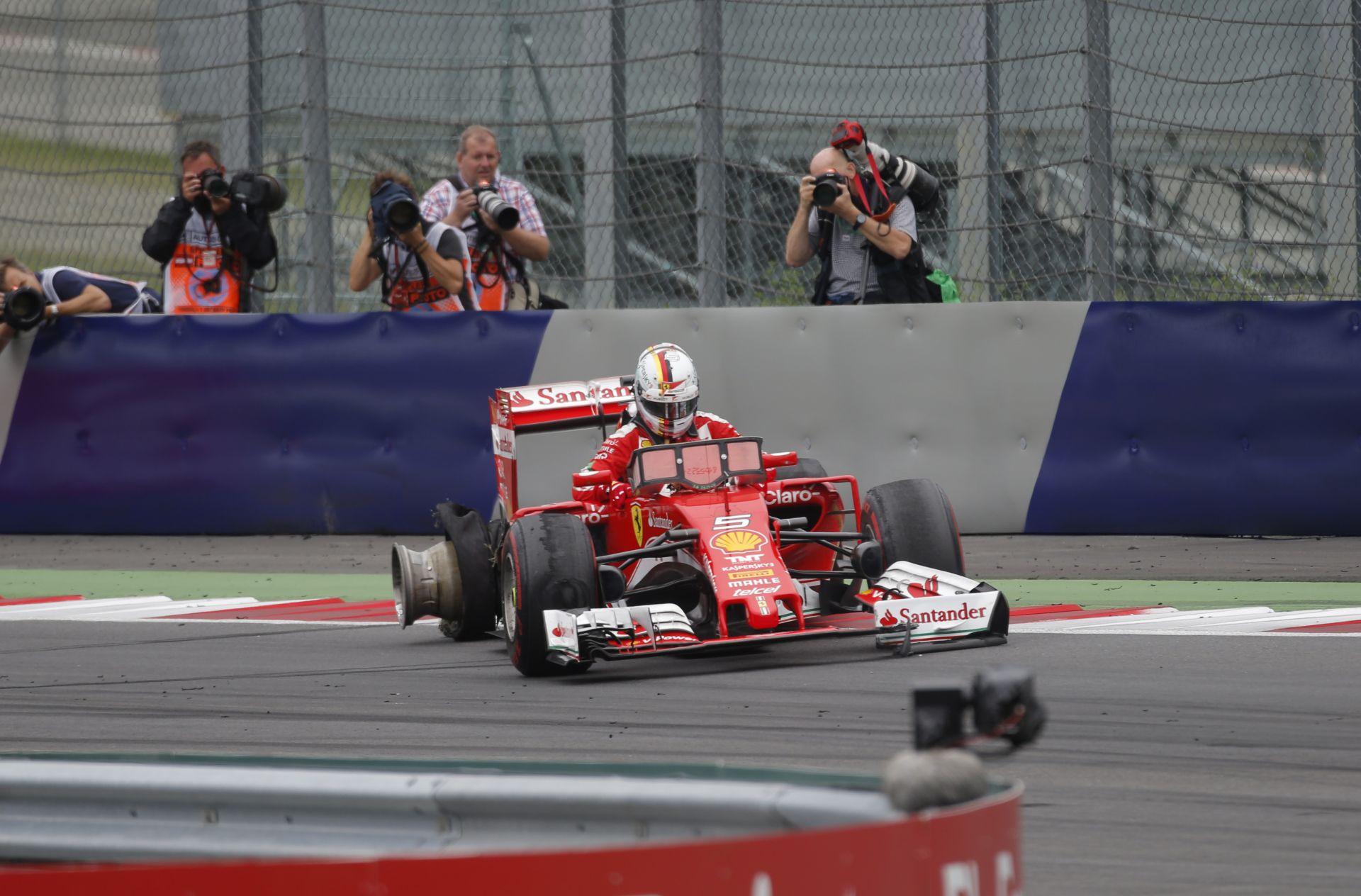 WOW: Rosberg kameranézetből Vettel gumirobbanása a Red Bull Ringről