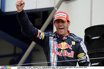 Ma 7 éve, hogy Webber először nyerni tudott a Forma-1-ben a Red Bullal