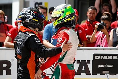 Mick Schumacher újabb csodálatos sikere: 10. helyről jött fel a dobogó második fokára