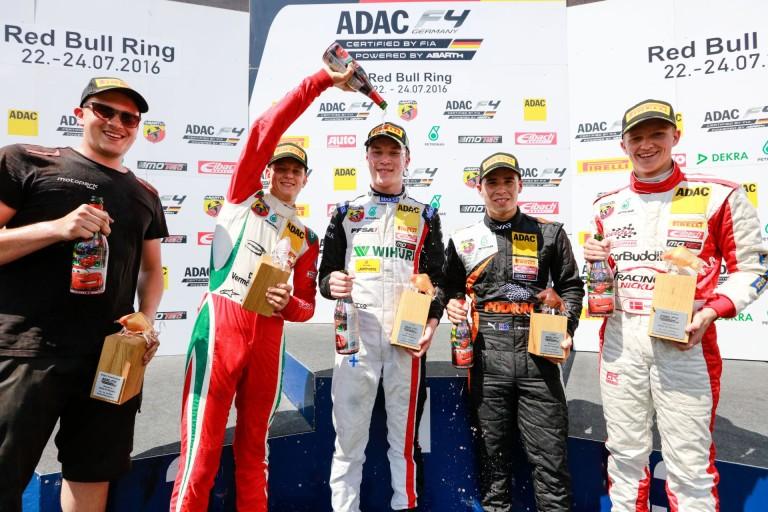 Mick Schumacher második hellyel fejezte be a hétvégét a Red Bull Ringen