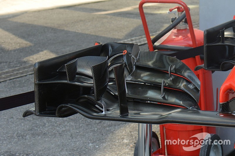 Tech update: Nieuwe low downforce voorvleugel voor Haas