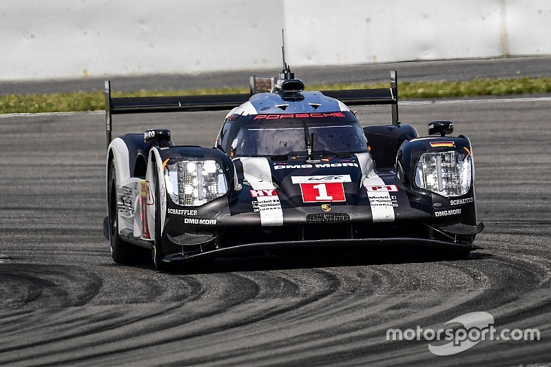 Porsche en tête des premiers essais, grosse sortie pour la Toyota de Sarrazin