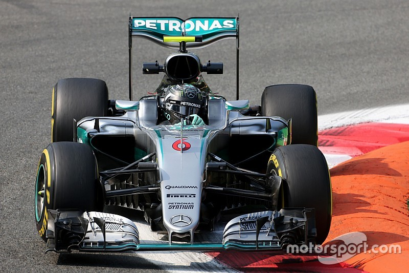 Rosberg le gana la partida a Hamilton en la FP1 de Monza