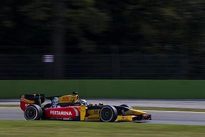 GP2 Monza: Giovinazzi en Jeffri raken kwalificatietijd kwijt