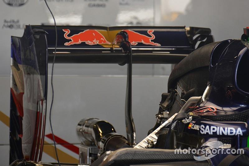 Breve análisis técnico: alerón trasero Toro Rosso